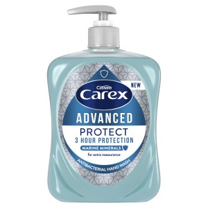 Carex  Soap - 6 x 500ml (Now without Pump Tops)