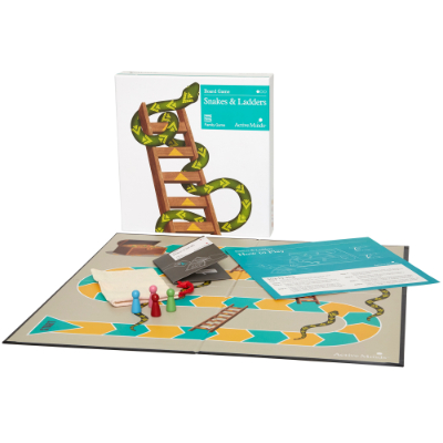Snakes and Ladders game Set (24)