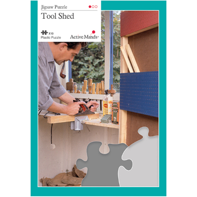 13 Piece Jigsaw Puzzle - The Tool Shed